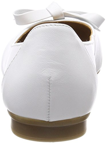 Femme weiss Ballerines Shoes Casual Gabor Blanc x4tanq
