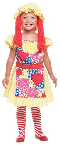 Paper Magic Group Rag Doll,2T (Cheap But Scary Halloween Costumes)