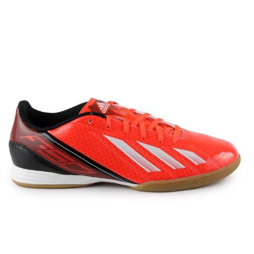 Scarpa Da Calcio Per Interni Adidas F10 - Rossa / Bianca / Nera (uomo)