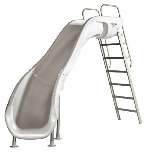 S.R. Smith 610-209-5822 Rogue2 Pool Slide, Left Curve, White