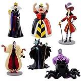 Disney Villains Figure Play Set 6 Pieces