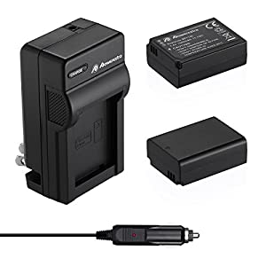 Powerextra 2 Pack Battery and Charger for Samsung BP-1130, BP-1030 and Samsung NX200, NX210, NX300, NX500, NX1000, NX1100, NX2000