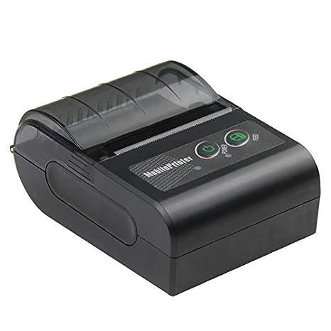 Amazon.com: WeeiUs - Impresora de recibos con Bluetooth ...
