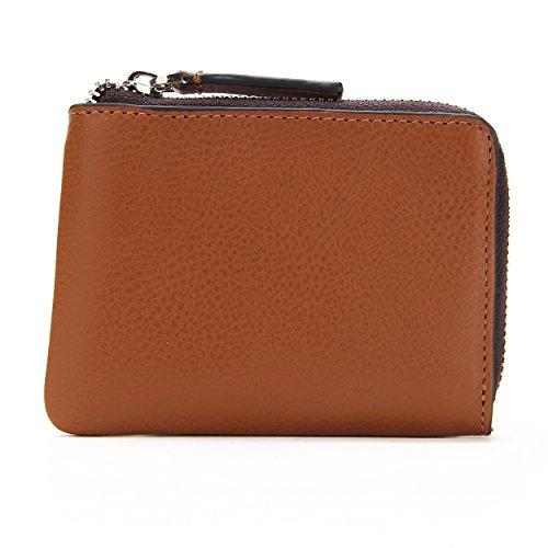 tovier-genuine-leather-slim-zip-around-bifold-wallet-coin-purse-id-cash-holder-slim-new-edition-brow