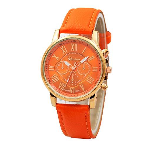 Star_wuvi Men Women Global Printed Watch Denim Watch Band ()