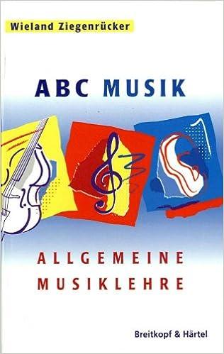 ABC MUSIK ALLGEMEINE MUSIKLEHRE EPUB