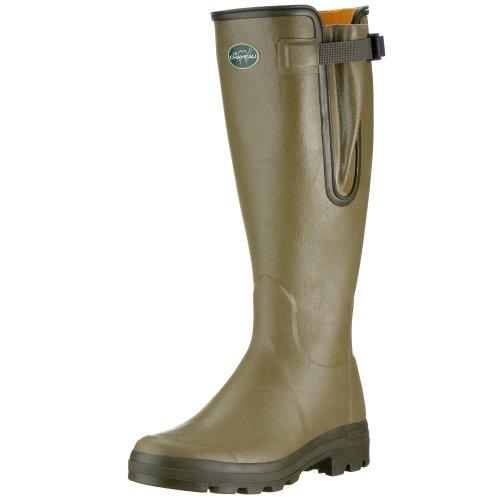 Le Chameau Men's Vierzon Man Boot,Olive Green,40 EU/7.5 M US