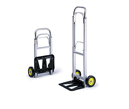 Hideaway Hand Truck (Hide-Away Aluminum Hand Truck by Safco , 4061, 43.5 in. H x 15.5 in. W x 16.5 in. D)
