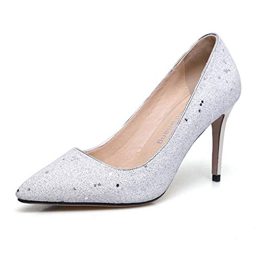 36 Inconnu MMS06380 5 Femme Compensées Sandales Blanc Blanc 1TO9 xq0qnrw6