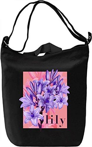 Lily Borsa Giornaliera Canvas Canvas Day Bag| 100% Premium Cotton Canvas| DTG Printing|