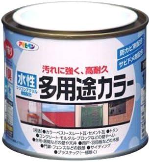 アサヒペン 水性多用途カラー 1/5L チョコレート