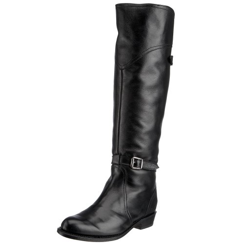 FRYE Women's Dorado Riding Boot, Black Full Grain, 10 M US by FRYE