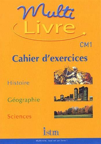 Amazon Fr Multilivre Histoire Geographie Sciences Cm1 Cahier D Exercices Bendjebbar A Livres