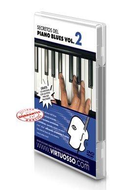 Virtuosso Blues Piano Method Vol.2 (Curso De Piano Blues Vol.2) SPANISH ONLY