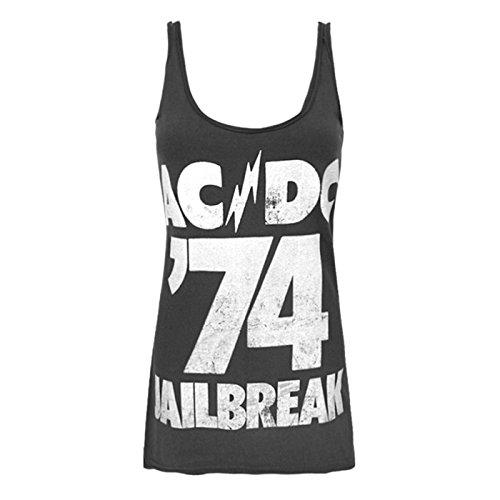 Ac 74 Amplified dc Débardeur Charbon Femme Jailbreak Officiel fzq5wg
