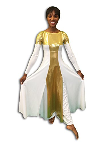 0235 ceremonial jumpsuit dress - 1