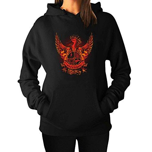 Woman's Valor Trainer LogoPullover Hoodie Sweatshirts XXL Black - Of Shade Book 50 Online Grey Free