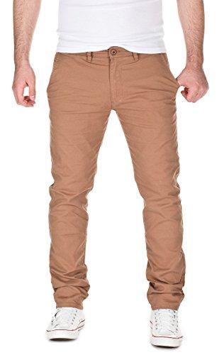 yazubi-chino-pants-kyle-slim-tapered-casual-pants-camel-2004-w32-l34