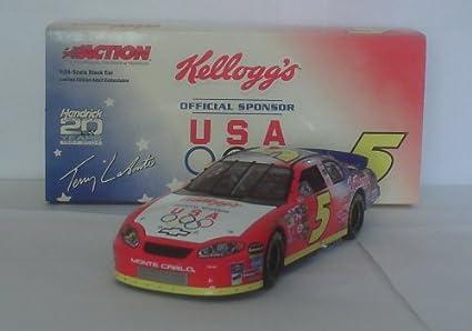 TERRY LABONTE 2004 #5 KELLOGG/'S FATHER/'S DAY NASCAR DIECAST RACE CAR 1//24