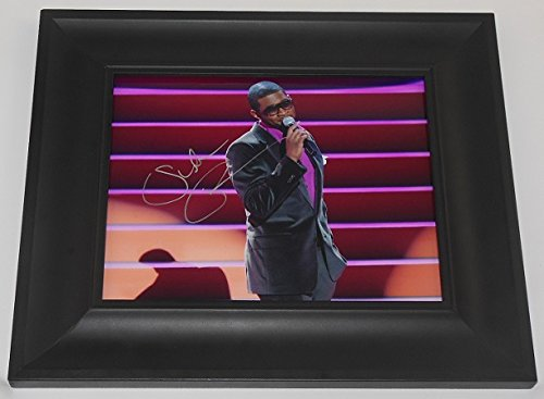 Usher Raymond Confessions Yeah! Beautiful Signed Autographed 8x10 Glossy Photo Gallery Framed ()