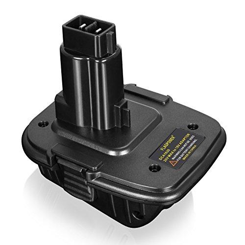 FLAGPOWER 20V Battery Adapter DCA1820 for Dewalt 18V Tools, Convert Dewalt 20V Lithium Battery DCB205 for Dewalt 18V NiCad & NiMh Battery Tools