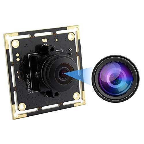 5 MP 180 Degree Fisheye Lens usb Webcam Mini Camera Module High Definition 2592X1944 Webcam Aptina MI5100 USB with Cameras,Wide Angle Cameras Support Most OS,UVC Compliant,Plug&Play USB2.0 Web Cameras