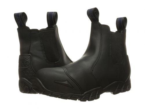 Bates Footwear(ベイツ) メンズ 男性用 シューズ 靴 ブーツ 安全靴 ワーカーブーツ Chelsea Composite Toe Black [並行輸入品] B07DNPHMQY 10 D Medium