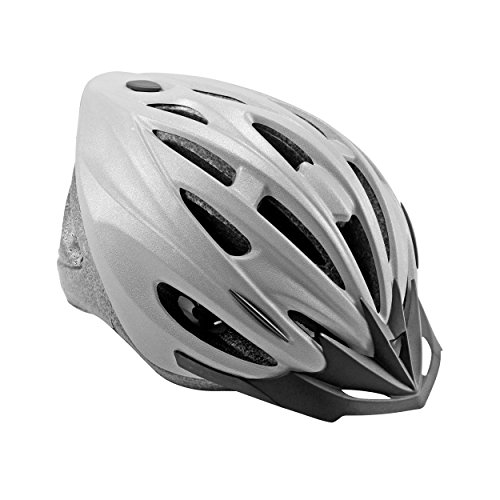 Cycle Force 1500 ATB Cycling Helmet, Reflective Gray, XL