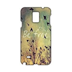 Flying bird be free 3D Phone For SamSung Galaxy S5 Mini Case Cover