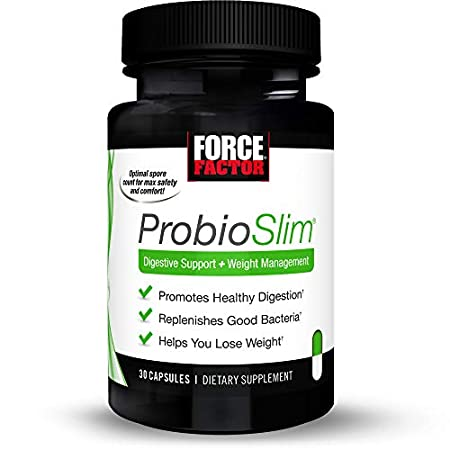 Health Shopping Force Factor Probioslim Probiotics + Weight Loss Supplement, Burn Fat, Lose Weight,