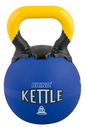 Champion Sports Rhino Kettle Bell Weights, 30-Pound by Champion Sports