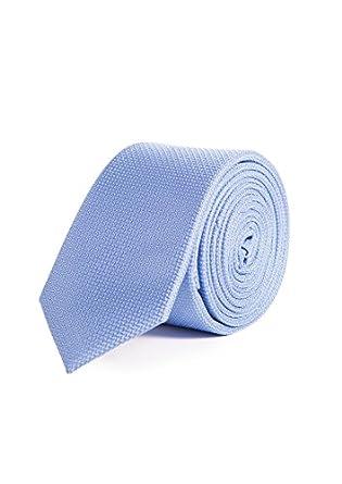 Mr. Blue - Corbata Estrecha Fantasía Classic Collection, Hombre ...