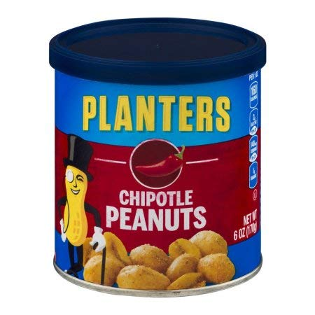 Planters Chipotle Peanuts (Pack of 20)