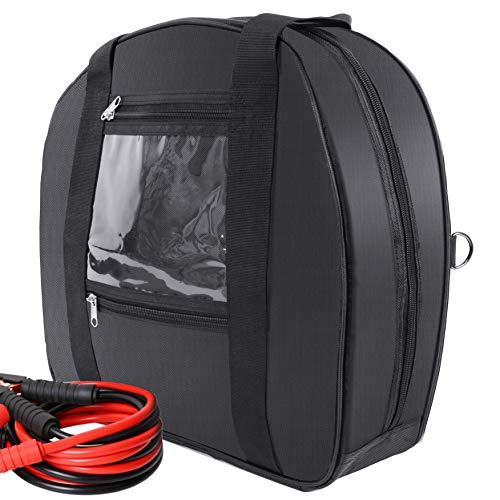 Tools Cable Bag Storage Bag -Jumper Cable Bag for Cables, Cords, and Hoses Including EV Charging Cables for Electric Vehicles - Tesla, Nissan Leaf, Chevy Bolt