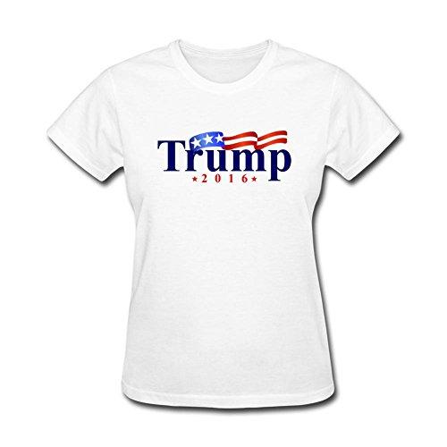 JustLikeSun Women's Donald Trump In 2016 T Shirt