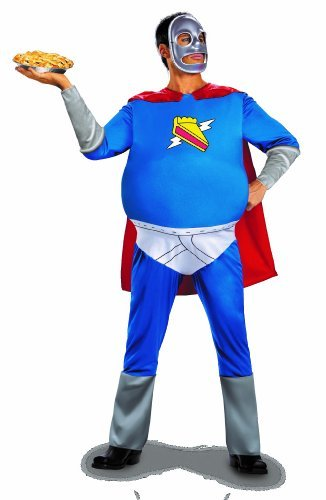 Homer Pieman Costumes (The Simpsons Homer Pie-Man Men's Costume by Disguise)