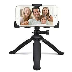 CHOETECH H004 Adjustable Tripod Stand Holder for GoPro Mobile Phone Smartphones