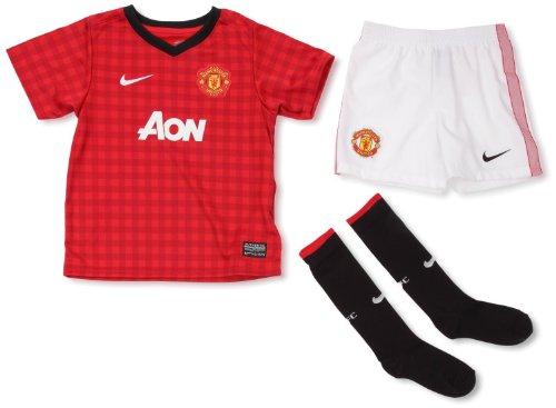 Nike Manchester United Mini Kit Set (Medium, Home Red)