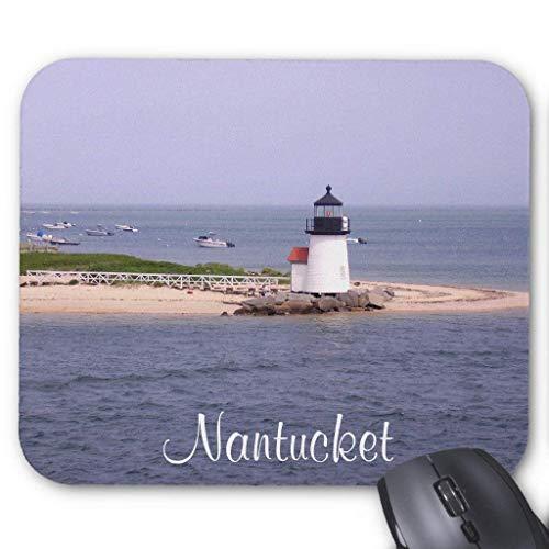 Brandt Point Lighthouse Nantucket Ma Mousepad 18