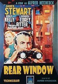 Alfred Hitchcock Rear Window James Stewart Grace Kelly Huge