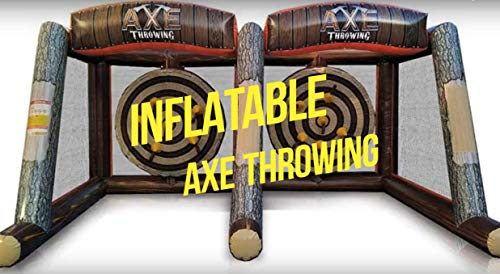 Inflatable Axe Throwing Mobile Single Unit