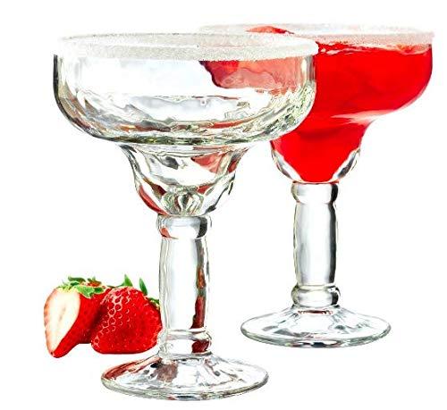 Margarita Glass Set of 4 With Bonus Recipe Booklet]()