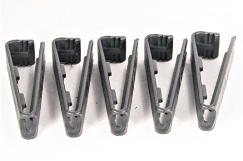 Clakit Molle QuickClip 5-pack – Multipurpose Fastener For Connecting Gear To Molle Packs by Clakit