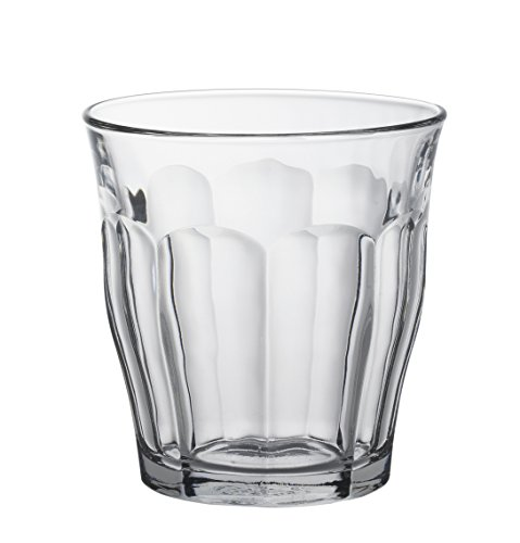 (Duralex Made In France Picardie Clear Tumbler, Set of 6,)