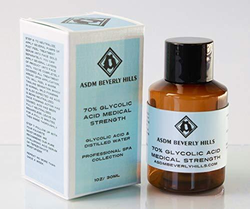 ASDM Beverly Hills 70% Glycolic Acid Medical Strength, 1oz