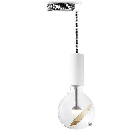 Move Me Lámpara de techo colgante con cable trenzado de ...
