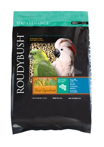 Picture of RoudyBush Daily Maintenance Bird Food, Medium, 25-Pound