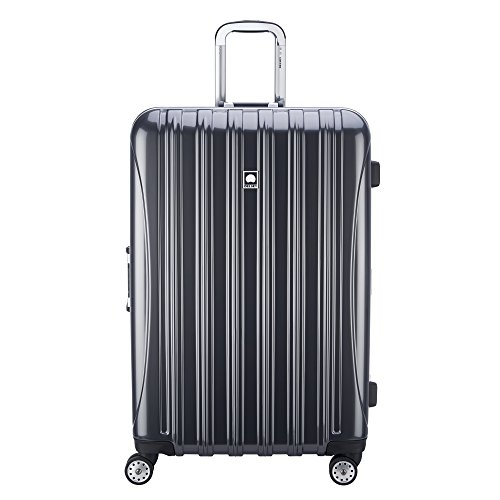 Delsey Luggage Aero Frame Expandable 29 Inch Spinner, Silver by DELSEY Paris