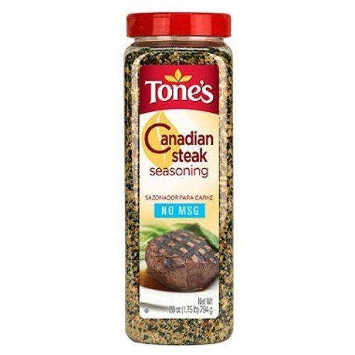 Tone's Canadian Steak Seasoning (28 ounce shaker) by Tone's (Canadian Steak)