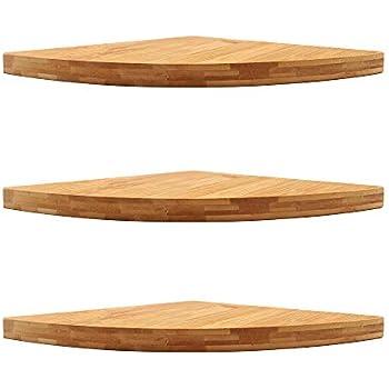 Superieur Corner Floating Shelf, Wall Mount Cabinet Corner Shelves Storage For  Kitchen Bathroom Shower (3